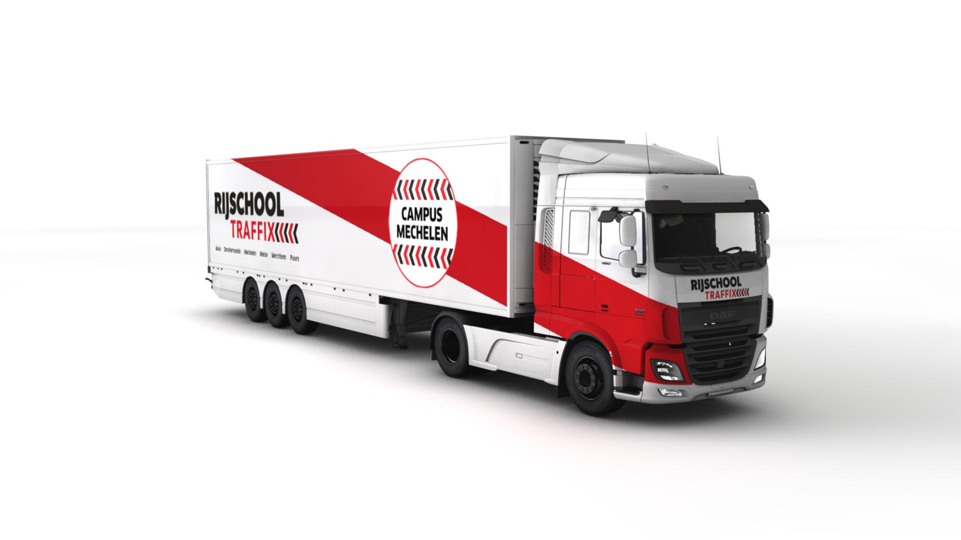 Nieuwe vestiging Traffix Mechelen